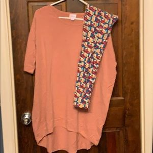 Lularoe Medium Irma & OS Leggings